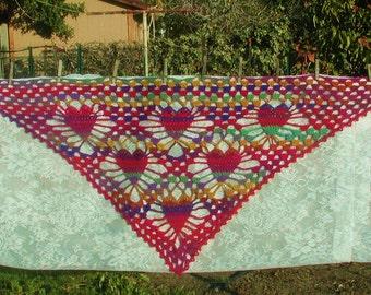 PDF  Titillating Tessallating Hearts Crochet Pattern