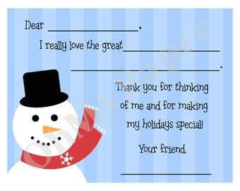 Holiday Thank You Notes - Set of 20