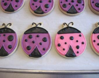 Ladybug Cookies (1 dozen)
