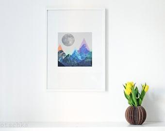 """ninotschka fine art print """"moon"""""""