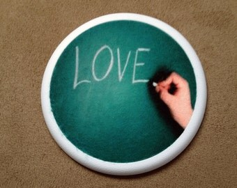 Perfect Teacher Gift, Love Super Absorbent  - Drink Coasters - Love Coasters - Buy One = Give Clean Water