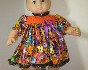 Halloween Party Dresses for 15in. Bitty Baby