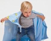 Organic cotton soft baby blanket , free shipping
