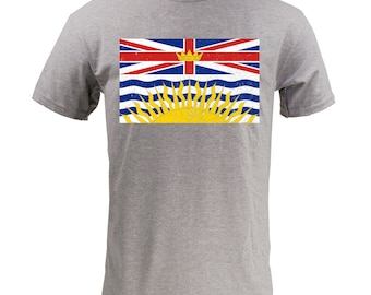British Columbia Provincial Flag - Sport Grey