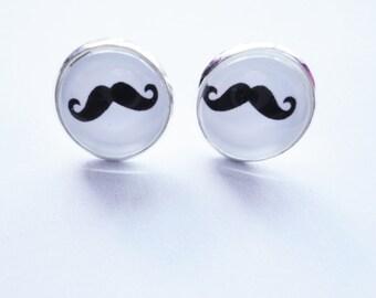Earstud Mustache
