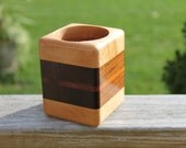 Maple, Walnut and Cedar Pencil Holder
