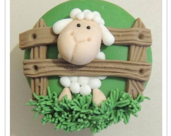 Woolly Sheep Cupcake PDF Tutorial