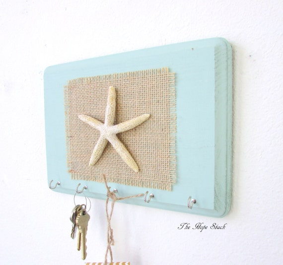 Key Holder Wall Hook Key Hook Beach Decor By Thehopestack