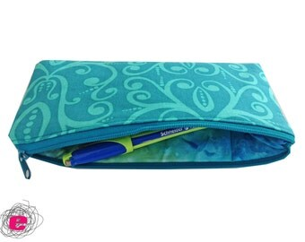 Pencil Case, romantic zipper pouch