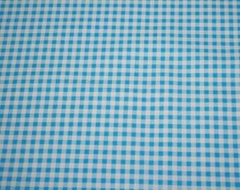 "Picnic Pals - Gingham 1/4"" Blue"