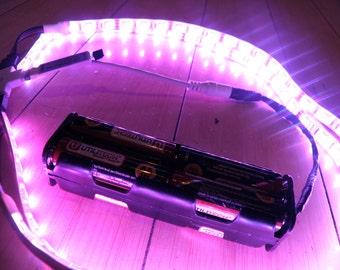 The OCTOPAK 3.0 TM Battery Powered LED Strip Light 2 x 2 x 2 Open Pack