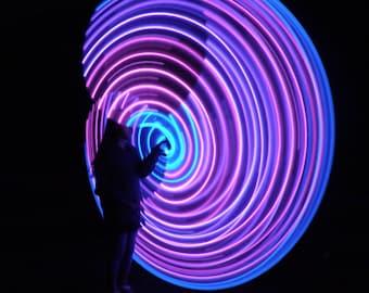 NEW! The Supernova by Colorado Hula Hoops - Rechargeable LED Hula Hoop
