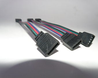 """6"""" 4 pin female to female connector for LED Strip Light"""