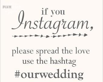 If you instagram custom printable 8 x 10