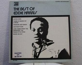 """Eddie Harris - """"The Best Of Eddie Harris"""" vinyl record, Jazz"""