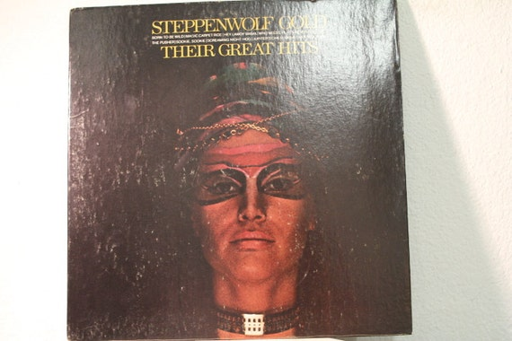 Steppenwolf Gold Their Great Hits Vinyl Record