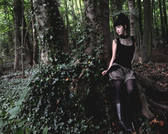 """Top """"Lilith"""" Dark fashion Steampunk"""