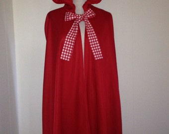 Little Red Riding Hood Adult Red Cape