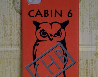 Iphone 4/5/5c/6/6+ Samsung S3/S4/S5/S6/S6edge/S3&S4 mini Case, Camp Half-Blood Inspired Percy Jackson Cell Phone Case, Cabin 6 Athena