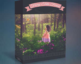 Fairy Tale Forest Digital Backdrop Collection