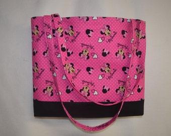 Minnie Mouse Tote Bag/ Beach Bag/ Diaper Bag