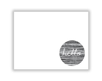 Modern Textured Greeting Card