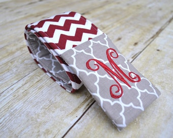 Monogrammed Mississippi State camera strap cover