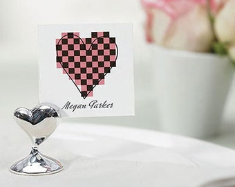 Heart Place Card Holders - SOLD in 8 PIECE PACKS