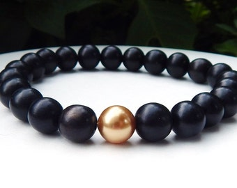 mens pearl jewelry s lava rock s cats eye bracelet s by 4239