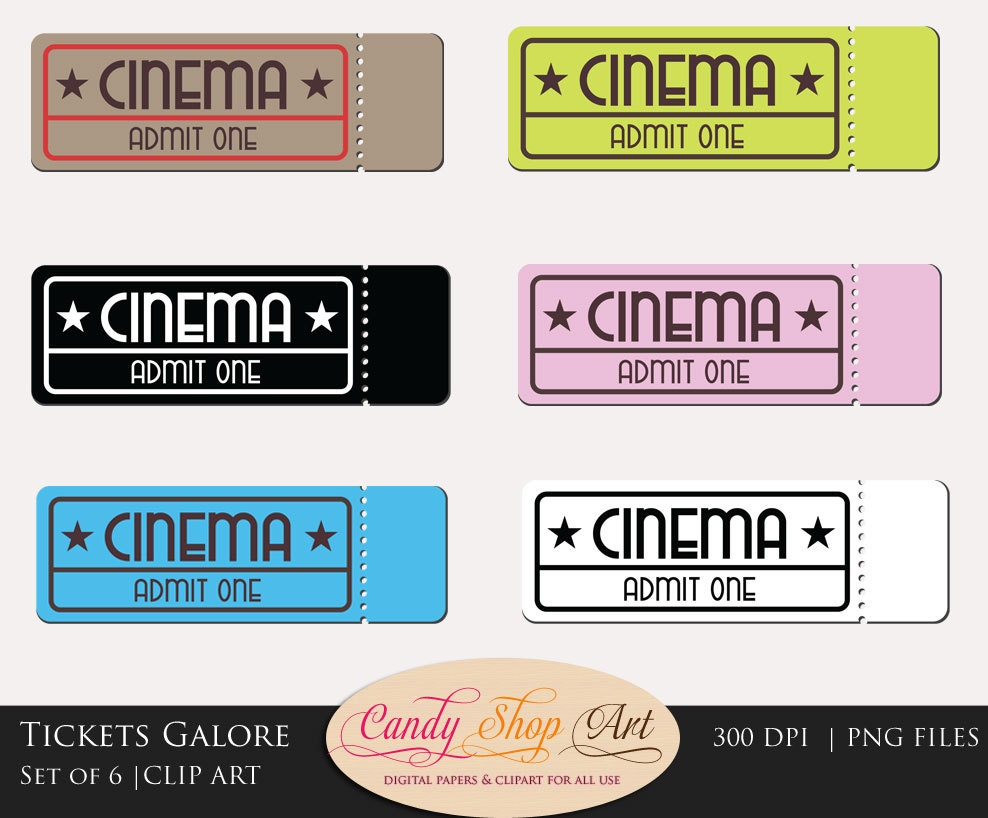Movie Tickets Clipart Movie Tickets Clip Art Theatre – Movie Theater Ticket Template