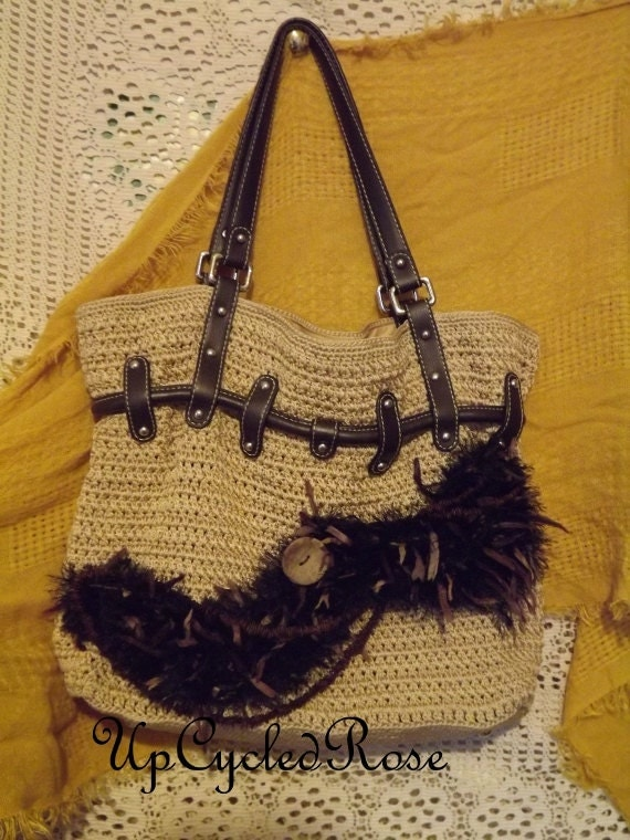 The Sac Upcycled Purse Bohemian Fashion Great Gift