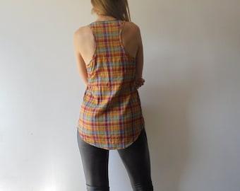 Vintage Blouse.Women Shirt.Vintage Top.