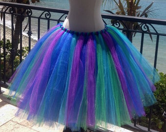 "Long Women's Tutu - 20"" Length, Choose colors"