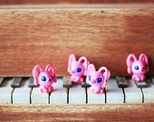 2 pcs / Decoden / Figurine / PVC / Kawaii / Stitch / Animal Charms / Figurine / Miniature / 2CM / DS276