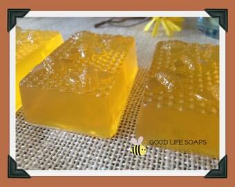 SOAP Honey Bee Honeycomb Bar