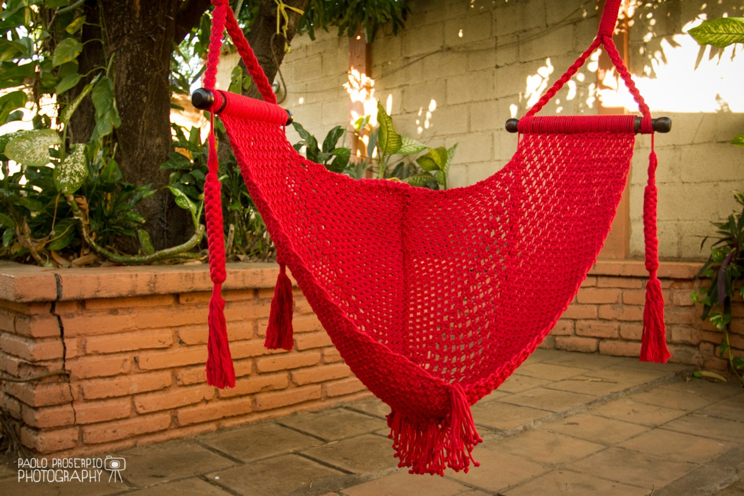 Macrame swing chair 28 images eco friendly macrame for Diy macrame baby swing