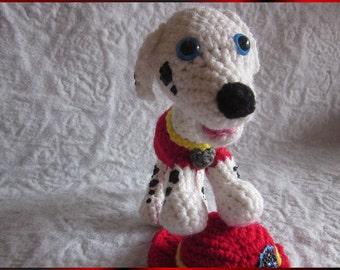 CROCHET PATTERN - Paw Puppy Marshall