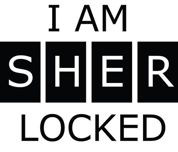 I AM SHERLOCKED Decal Sticker by stickEdecals on Etsy
