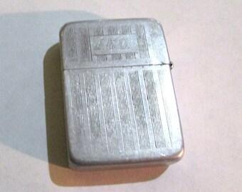 Vintage, antique, PARK LIGHTER, monogrammed, old, TOBACCIANA, cigar, cigarette, smoking collectible