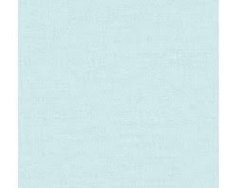 Flannel crib sheet: Light blue