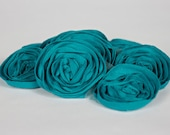 Flower Trim Grab Bag Special - Pink Royal Blue Black Silver Teal Flower - Shabby Flower + 115 FLOWERS - CuteZCrafts