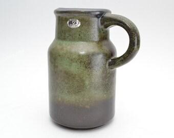 Green German studio keramik by Fritz van Daalen - 4722-13