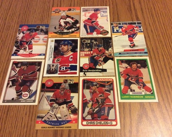 25 Montreal Canadians Hockey Cards