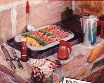 """1949 """"Breast-O-Chicken"""" Tuna Recipe Booklet"""