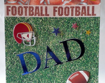 Football Dad - Father's Day Card