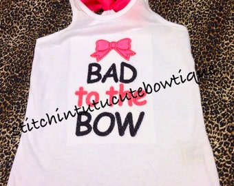 Bad to the Bow Tank Top
