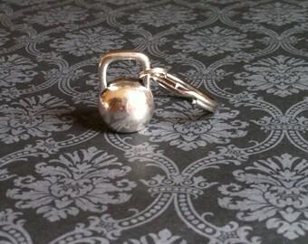 Large Kettlebell Keychain
