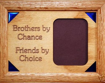 Brothers Poem Family Picture Frame 5x7