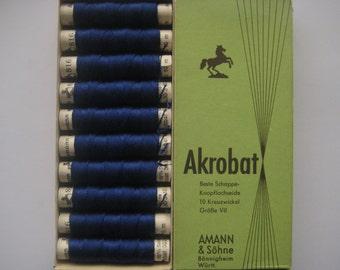 AMANN Akrobat 30/3 10m - Pure Silk Thread - Colour  816 - 10 spools