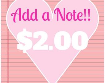 Add a Note